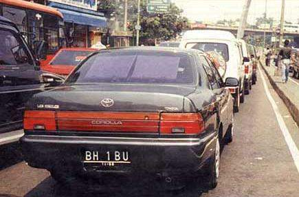 Daftar Plat Nomor Lengkap di Indonesia Bhibu