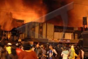Pasar Rejowinangun Kebakaran