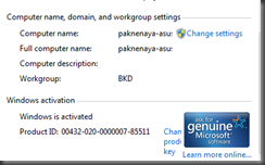 workgroup name